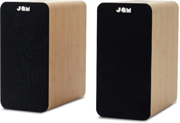 Jam Speakers Jam Bookshelf Speakers - siopashop.ie Wood