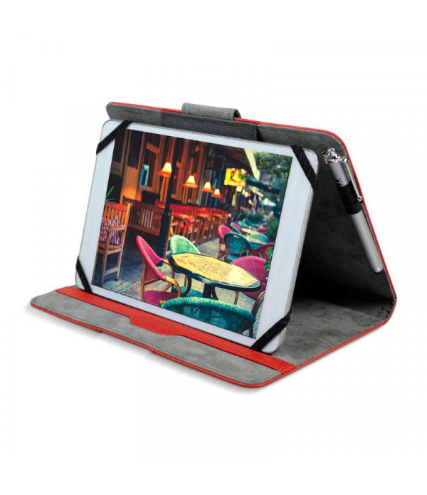 "Tablet Case Phoenix Universal Tablet Case 7/8.5"" - Red - siopashop.ie"