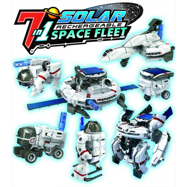 7 in 1 Solar Space Fleet kit