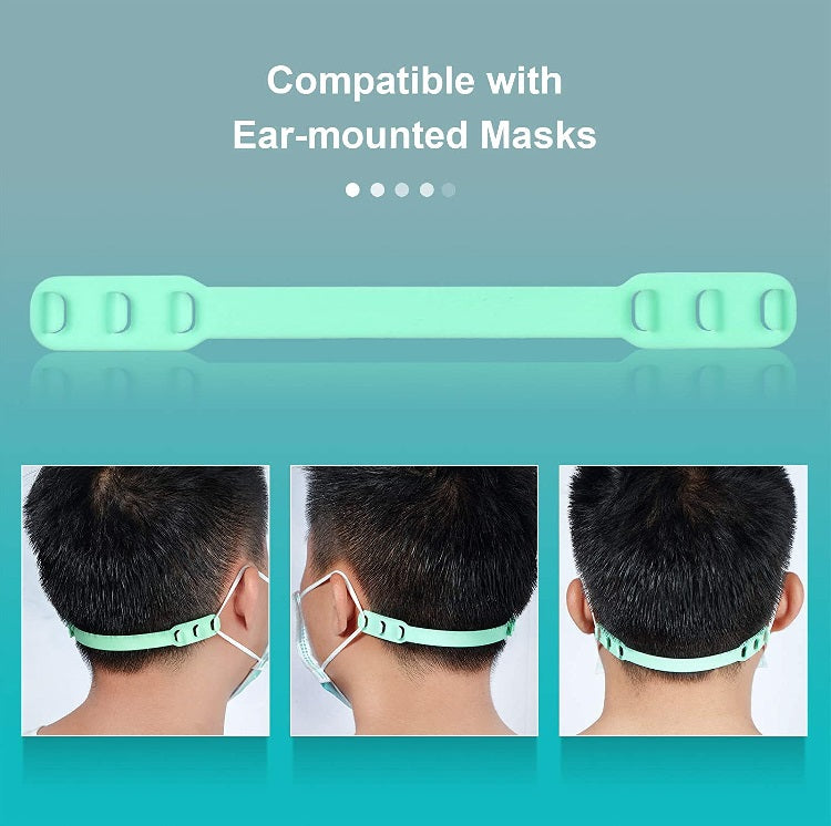 Mask Extenders Silicone Mask Holder/Extenders - Various Colours - siopashop.ie