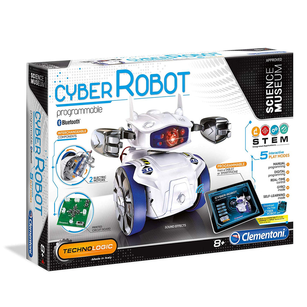 Cyber Robot Cyber Robot Toy - (English) - siopashop.ie