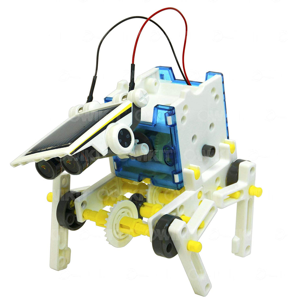Solar Robot Owi 14 In 1 Educational Solar Robot Kit - siopashop.ie