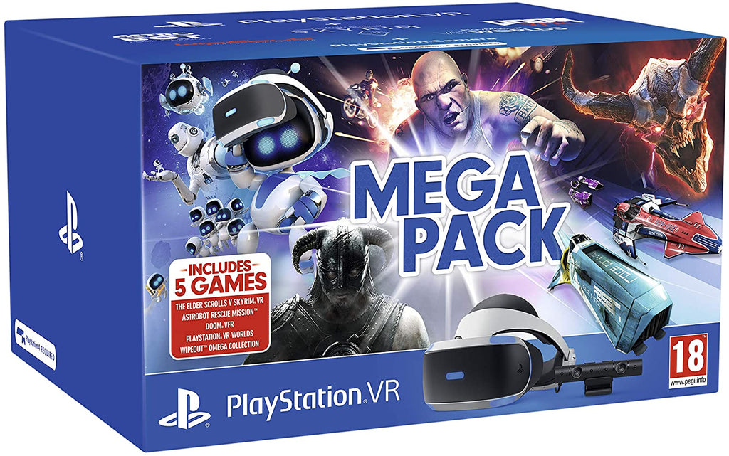 Ps4 VR Bundle PS4 VR 5 Game Mega Pack - siopashop.ie