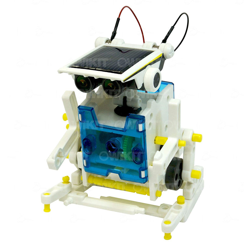 Owi 14 In 1 Educational Solar Robot Kit