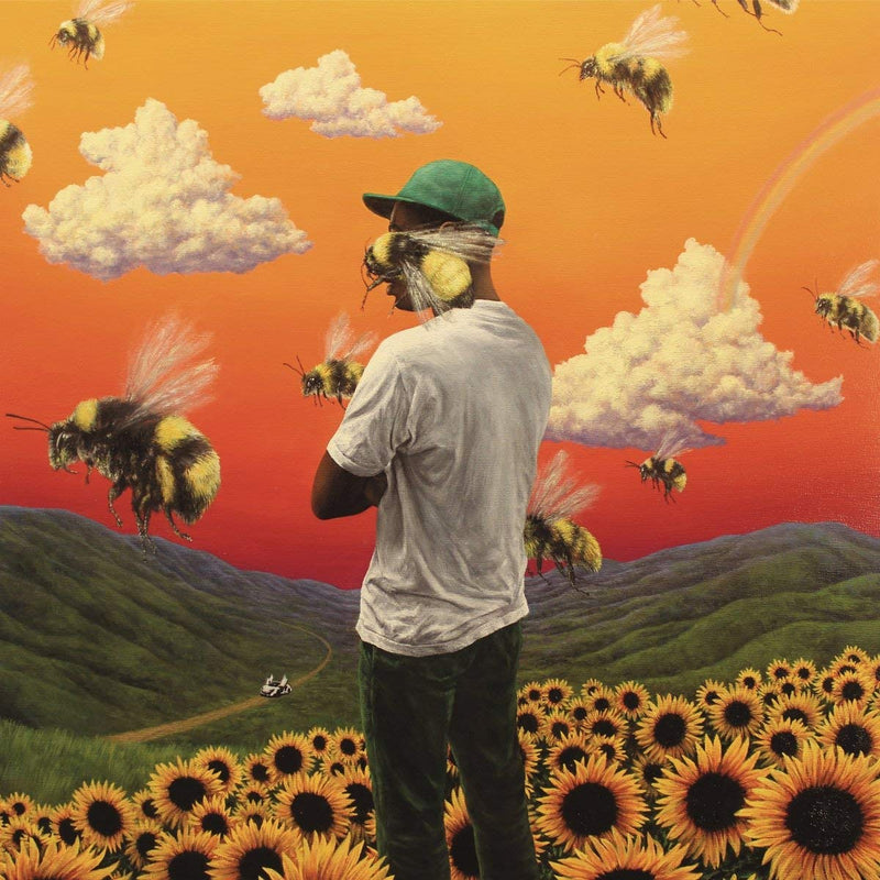"Vinyl Tyler, The Creator 12"" Vinyl - Flower Boy - siopashop.ie"