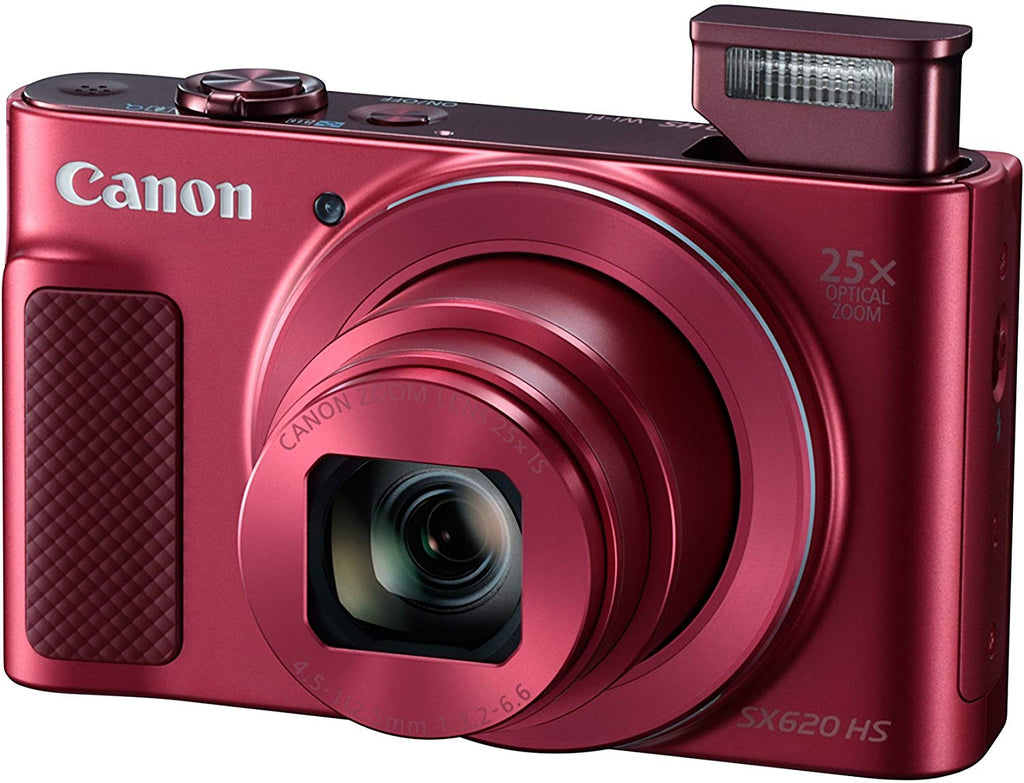 Digital Camera Canon PowerShot SX620 HS Digital Camera - Red - siopashop.ie