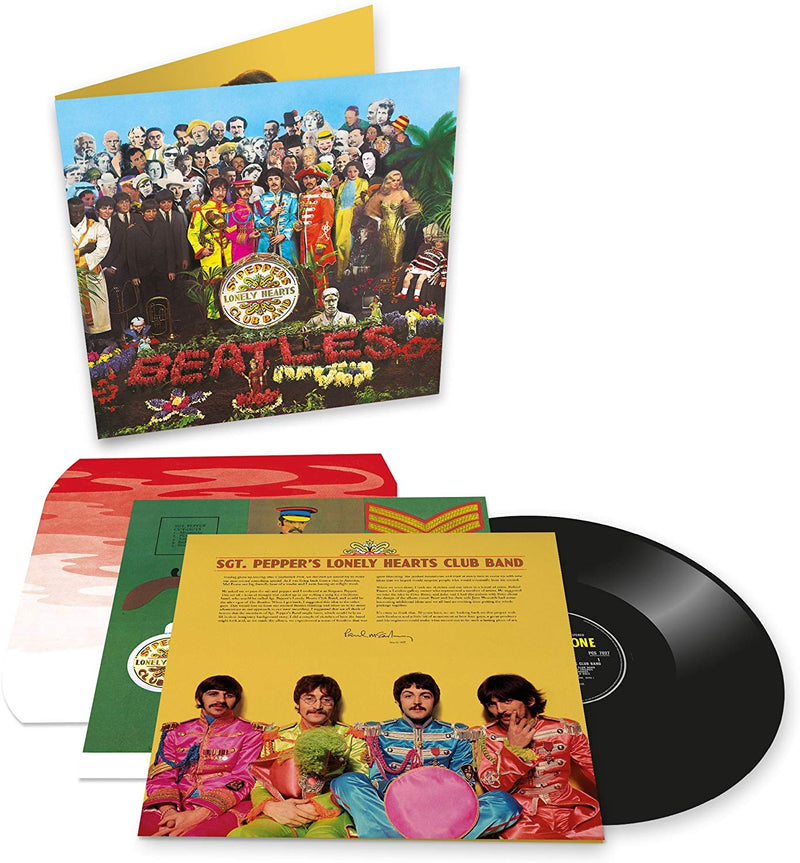 "Vinyl Beatles 12"" Vinyl - Sgt Pepper's Lonely Hearts Club Band - siopashop.ie"