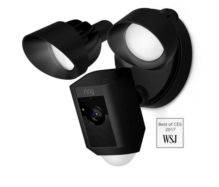 Ring Floodlight Camera Ring Floodlight Camera with Siren - Black - siopashop.ie