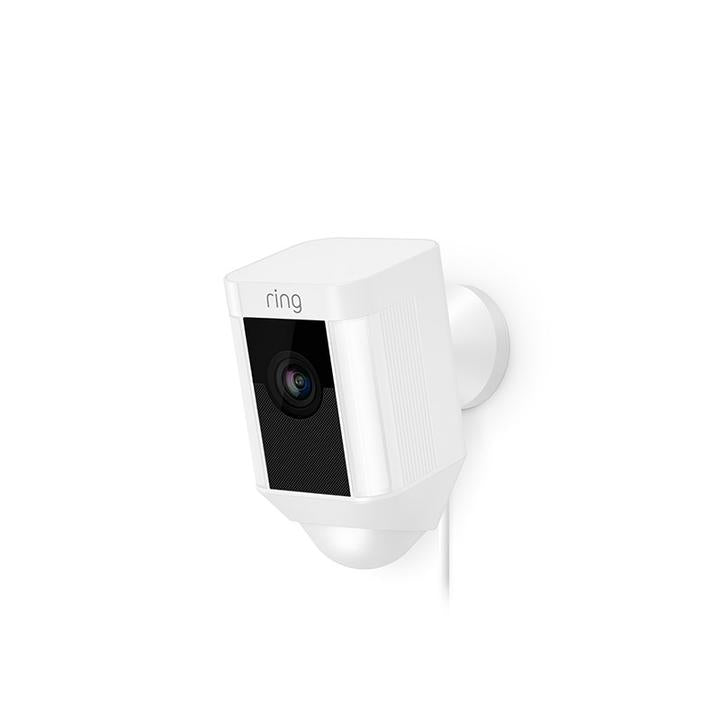 Ring Spotlight Cam Wired Ring Spotlight Camera Wired - White - siopashop.ie
