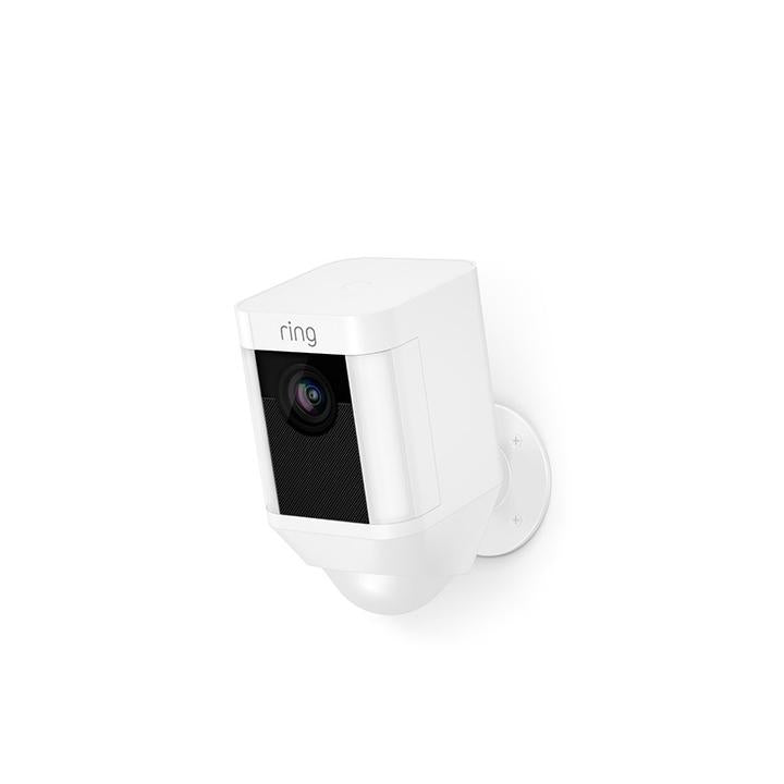 Ring Spotlight Cam with Battery - White