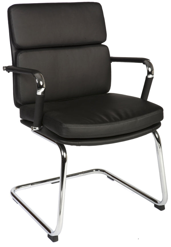 Deco Visitor Office Chair - Black
