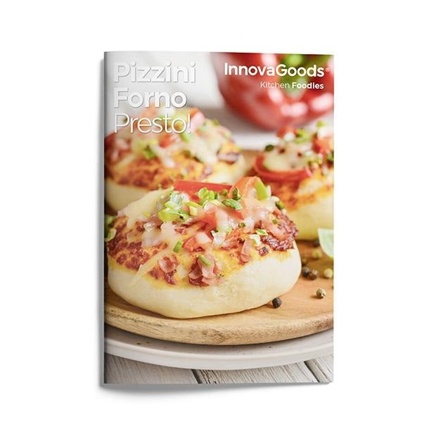 Pizza Maker Pizzini Forno Presto! Pizza Maker with Recipe Book - siopashop.ie