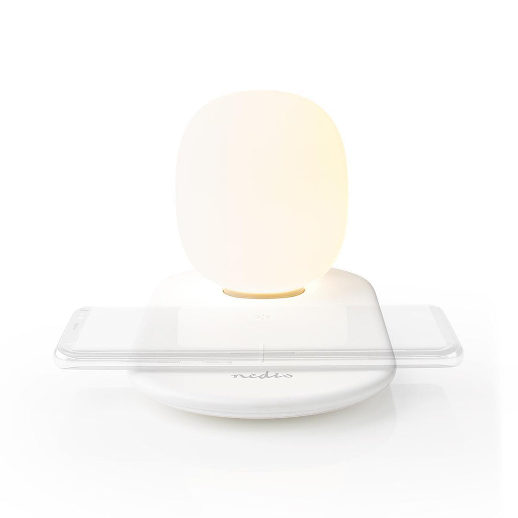 Nightlight Phone Charger LED Night Light with Touch Control with Wireless Qi Charger for Smartphone - siopashop.ie