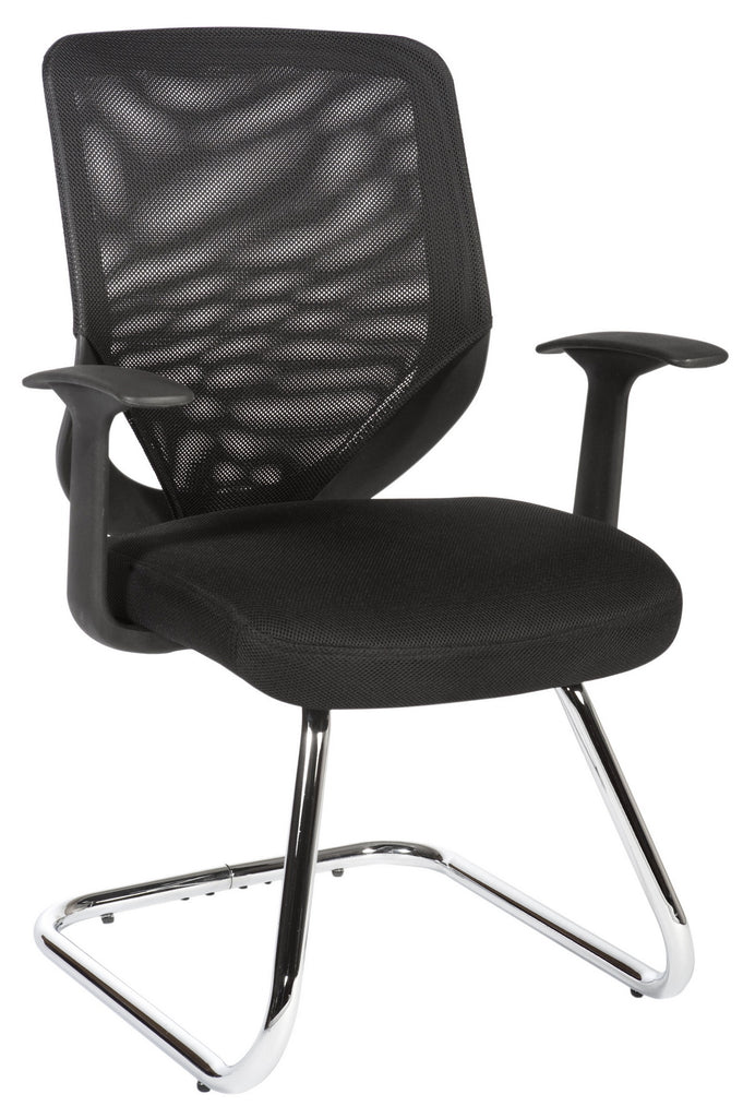 Visitor Chair Nova Mesh Visitor Office Chair - Black - siopashop.ie