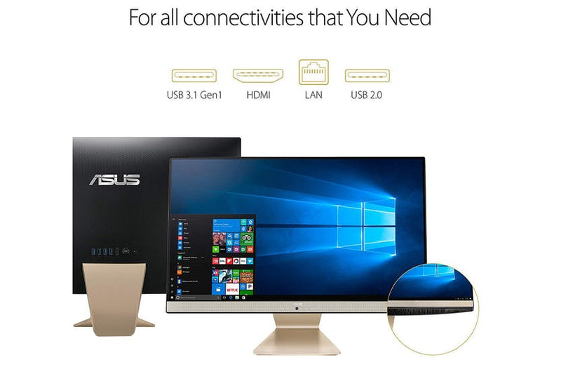 "Asus Vivo 24"" FHD All in One Monitor - Gold"