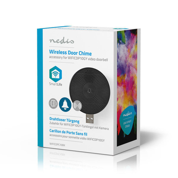 Wireless Door Chime for Nedis Wi-Fi Smart Video Doorbell