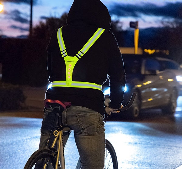 Reflective Vest Reflective & LED Vest/Harness - siopashop.ie