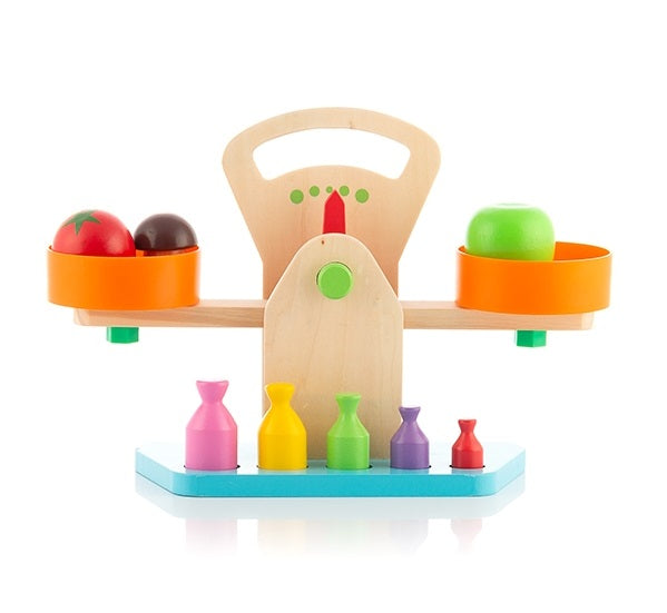 Wooden Scales Wooden Play Kitchen Scales - siopashop.ie