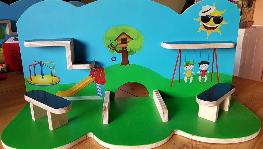 Tonie Shelves Handcrafted Siopashop Toy Shelves (Tonie Compatible) - siopashop.ie Playground