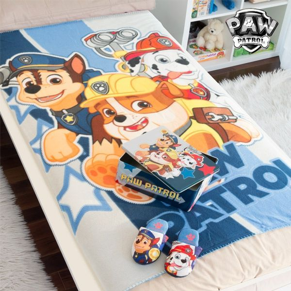 Paw Patrol Tin Bundle Paw Patrol Tin with Blanket and Slippers - siopashop.ie