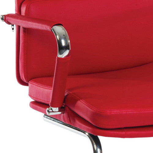 Visitor Chair Deco Visitor Office Chair - Red - siopashop.ie