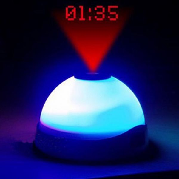 Projector Alarm Clock Projector Colour Change Alarm Clock - siopashop.ie