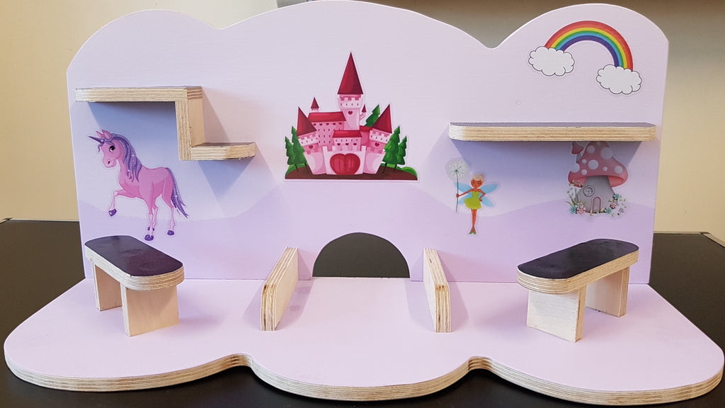 Tonie Shelves Handcrafted Siopashop Toy Shelves (Tonie Compatible) - siopashop.ie Fairytale