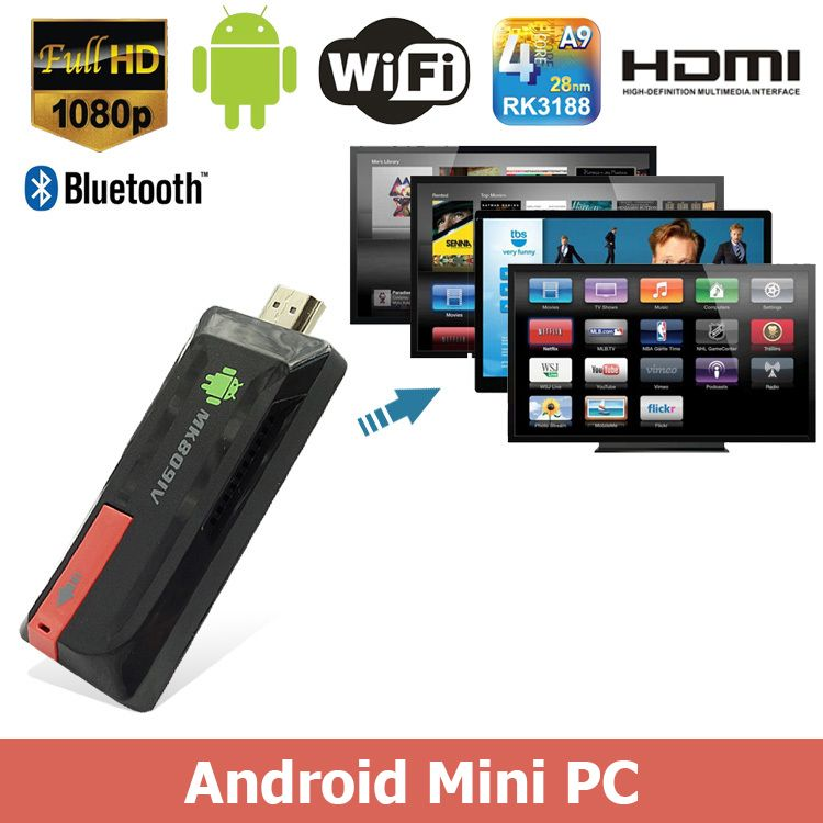 Android Mini TV Stick Android Mini PC - HDMI Dongle - siopashop.ie