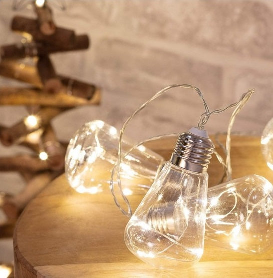 Bulb String Lights LED String Lights - Bulbs - siopashop.ie
