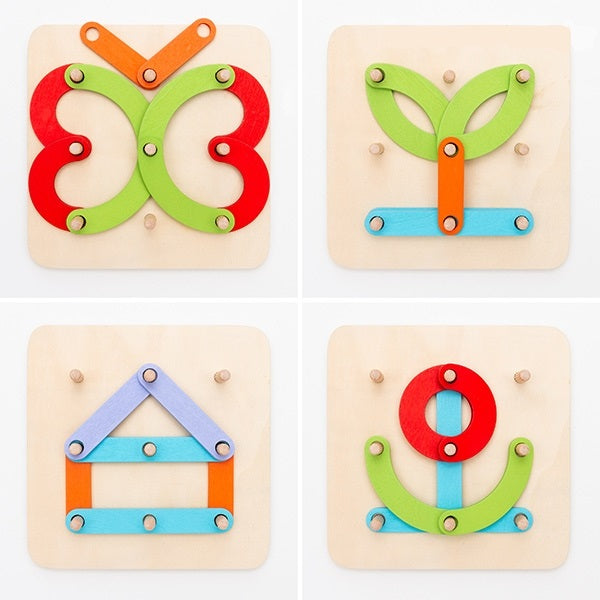 Wooden Letters Set Wooden Letters and Numbers Learning Set - siopashop.ie