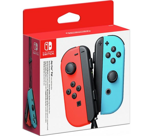 Nintendo Switch Controller Nintendo Switch JoyCon Controllers - Red/Blue. - siopashop.ie