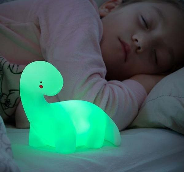 Kids Lamp Kids Multicolour Dinosaur Lamp - siopashop.ie