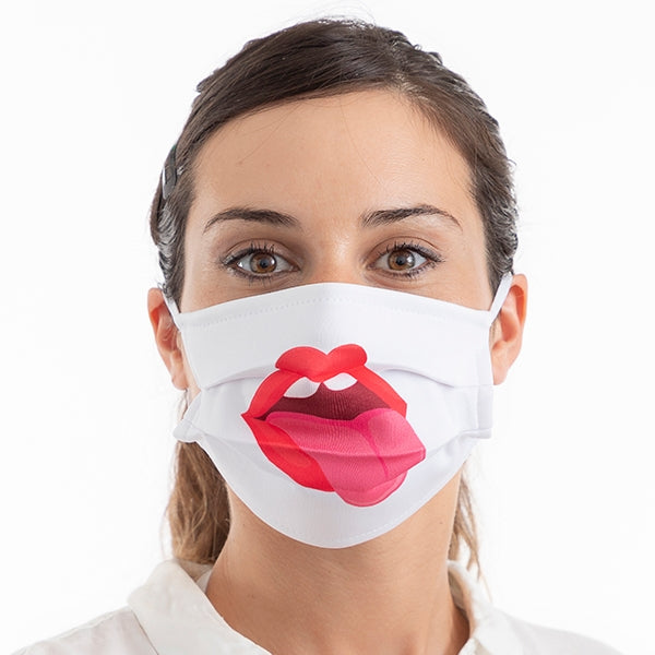 Face Masks Adult Face Mask Medium - Stick Out Tongue - 3 Pack - siopashop.ie