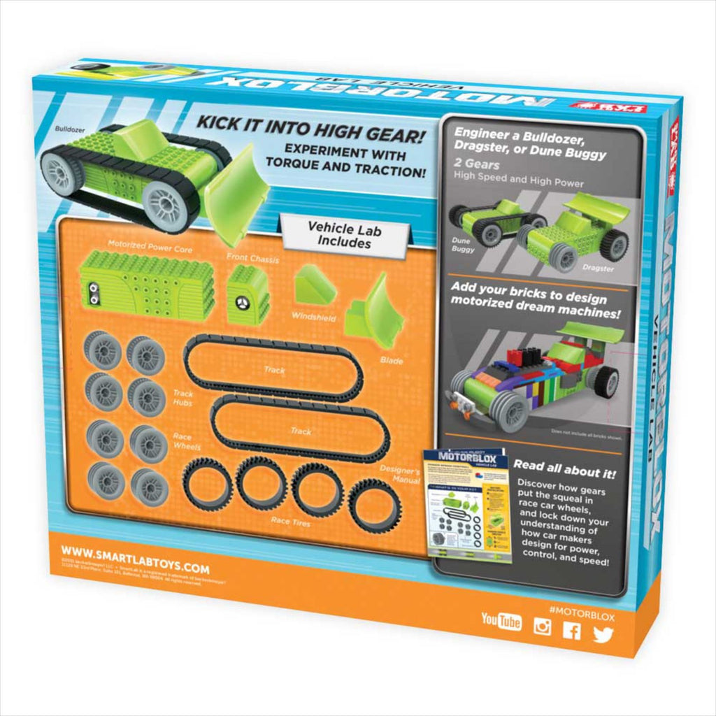 Vehicle Robot Kit MotorBlox Vehicle Lab Robot Kit - siopashop.ie