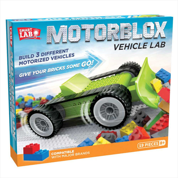 MotorBlox Vehicle Lab Robot Kit