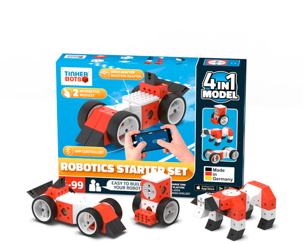 Tinkerbots Robotics Construction Starter Set