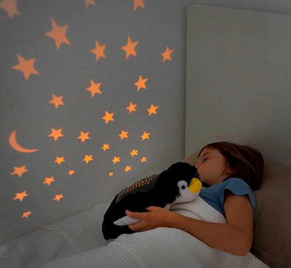 Projector Night Light Soft Cuddly Penguin Night Light Projector - siopashop.ie