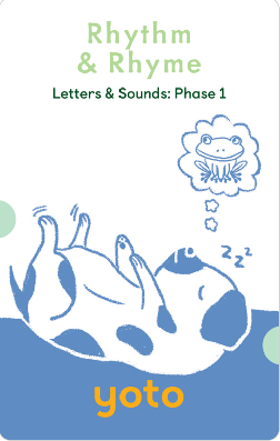 Yoto Activities Card Pack Yoto Activities Card Pack - Phonics: Letters & Sounds: Phase 1 - siopashop.ie