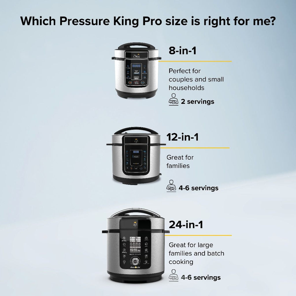 Pressure King Pro New Pressure King Pro 6L 24-IN-1 - siopashop.ie