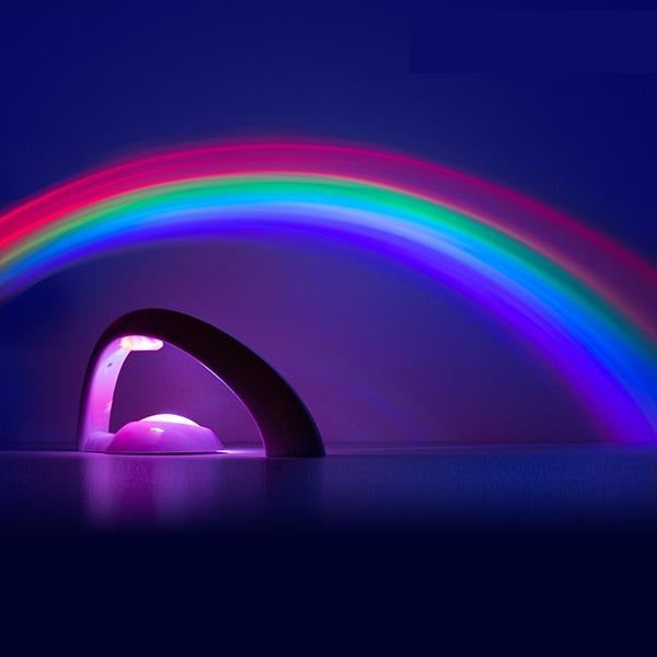 Rainbow Lamp Kids Rainbow Projector Lamp - siopashop.ie