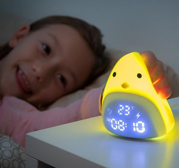 Chick Alarm Clock Silicone LED Chick Alarm Clock - siopashop.ie