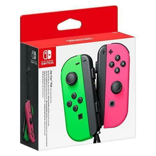 Nintendo Switch Controller Nintendo Switch JoyCon Controllers - Neon Green/Neon Pink. - siopashop.ie