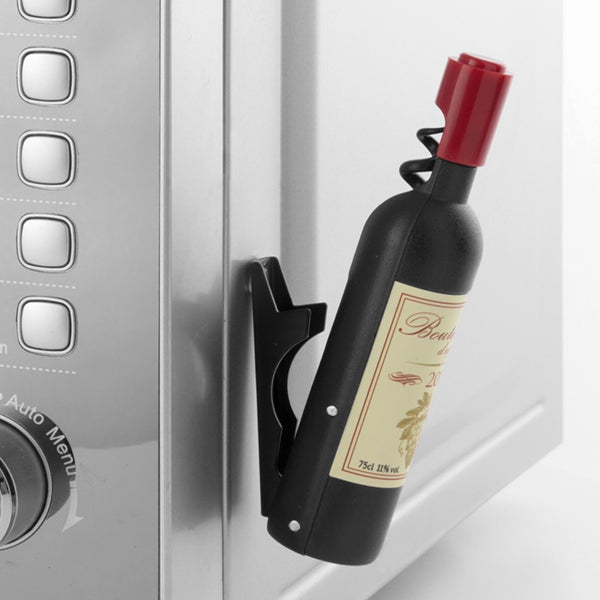 Bottle Opener Corkscrew Magnetic Wine Bottle Corkscrew and Bottle Opener - siopashop.ie