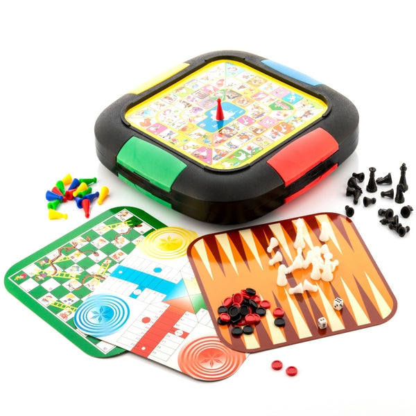 5 in 1 Board Games 5 in 1 Set of Board Games - siopashop.ie