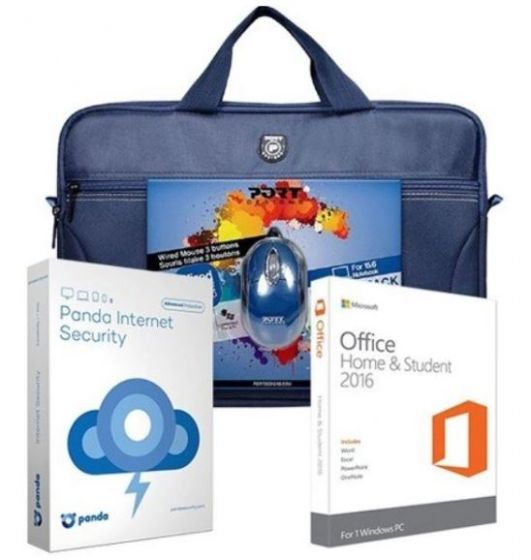Microsoft Office Home & Student Accessory Bundle - Blue
