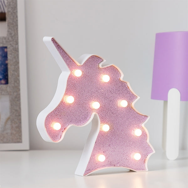 Unicorn Glitter Lamp Unicorn Glitter Lamp - siopashop.ie Pink