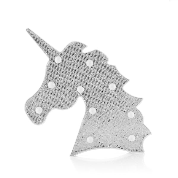 Unicorn Glitter Lamp Unicorn Glitter Lamp - siopashop.ie Silver