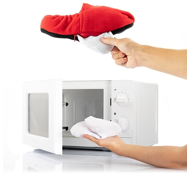Heated Slippers Microwaveable Heated Slippers - siopashop.ie