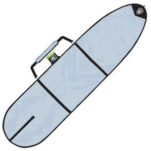 FK 8'1 Longboard Allrounder Surfboard Cover In Silver From Far King Surf
