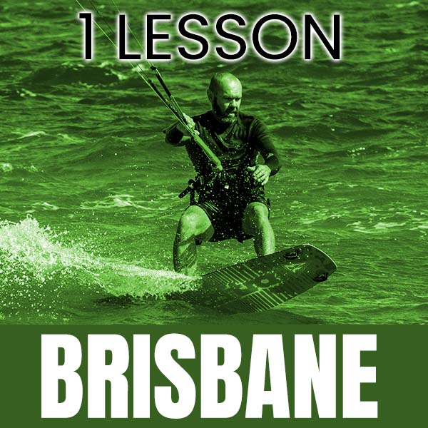 Casual Kitesurfing Lesson at North Brisbane